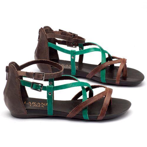 Laranja_Lima_Shoes_Sapatos_Femininos_Sandalia_Rasteira_Flat_em_Couro_Multicolor_-_Codigo_-_137059_2