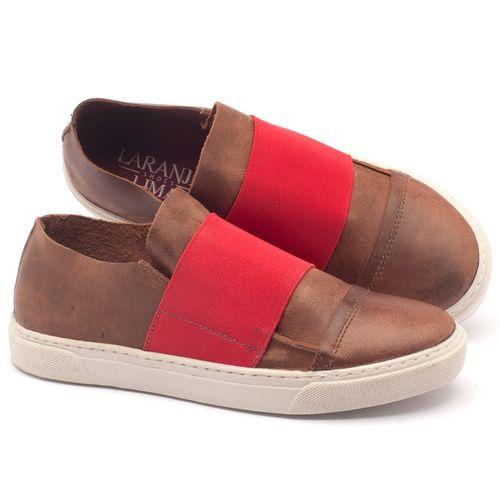 Laranja_Lima_Shoes_Sapatos_Femininos_Tenis_Cano_Baixo_em_Couro_Marrom_-_Codigo_-_137082_1