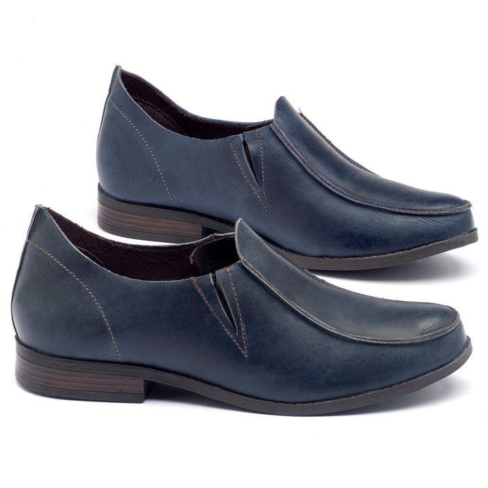 Laranja_Lima_Shoes_Sapatos_Femininos_Sapato_Laranja_Lima_Shoes_Salto_de_2_cm_em_Couro_Azul_-_Codigo_-_137093_1