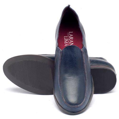 Laranja_Lima_Shoes_Sapatos_Femininos_Sapato_Laranja_Lima_Shoes_Salto_de_2_cm_em_Couro_Azul_-_Codigo_-_137093_2