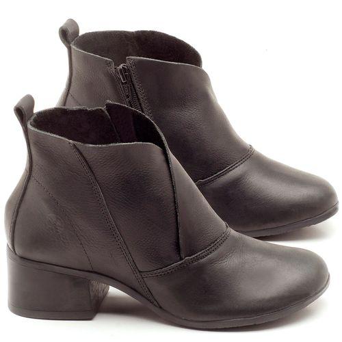 Laranja_Lima_Shoes_Sapatos_Femininos_Bota_Cano_Curto_Salto_de_5_cm_em_Couro_Preto_-_Codigo_-_137096_1