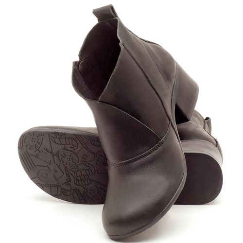 Laranja_Lima_Shoes_Sapatos_Femininos_Bota_Cano_Curto_Salto_de_5_cm_em_Couro_Preto_-_Codigo_-_137096_2