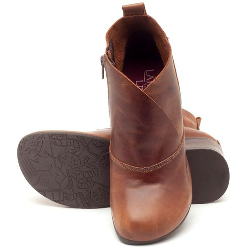 Laranja_Lima_Shoes_Sapatos_Femininos_Bota_Cano_Curto_Salto_de_5_cm_em_Couro_Marrom_-_Codigo_-_137096_2