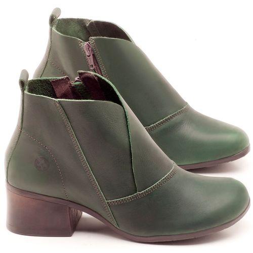 Laranja_Lima_Shoes_Sapatos_Femininos_Bota_Cano_Curto_Salto_de_5_cm_em_Couro_Verde_-_Codigo_-_137096_1