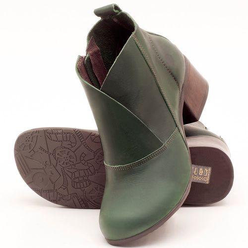 Laranja_Lima_Shoes_Sapatos_Femininos_Bota_Cano_Curto_Salto_de_5_cm_em_Couro_Verde_-_Codigo_-_137096_2