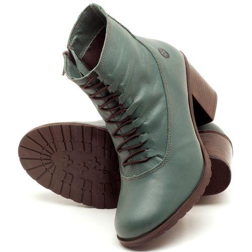 Laranja_Lima_Shoes_Sapatos_Femininos_Bota_Cano_Curto_Salto_de_6_cm_em_Couro_Verde_-_Codigo_-_137101_2