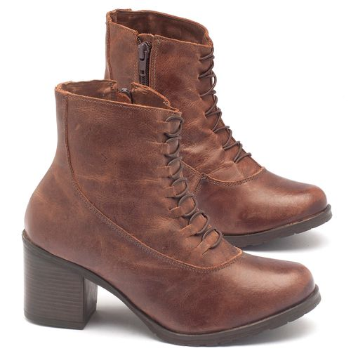 Laranja_Lima_Shoes_Sapatos_Femininos_Bota_Cano_Curto_Salto_de_6_cm_em_Couro_Marrom_-_Codigo_-_137101_1
