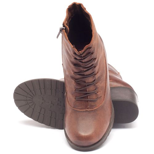 Laranja_Lima_Shoes_Sapatos_Femininos_Bota_Cano_Curto_Salto_de_6_cm_em_Couro_Marrom_-_Codigo_-_137101_2