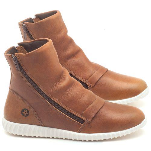 Laranja_Lima_Shoes_Sapatos_Femininos_Tenis_Cano_Alto_em_Couro_Caramelo_-_Codigo_-_137106_1