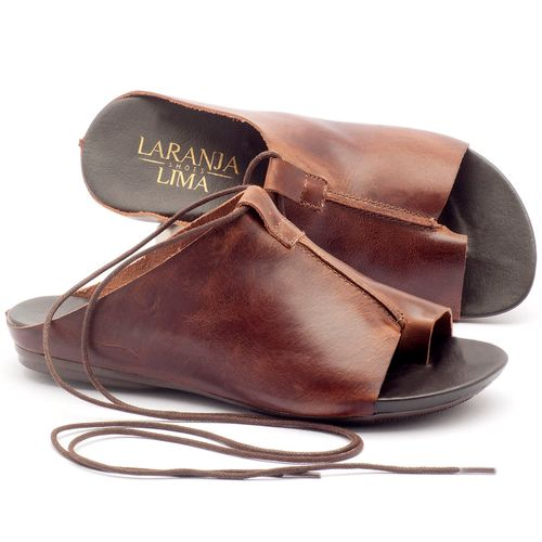 Laranja_Lima_Shoes_Sapatos_Femininos_Sandalia_Rasteira_Flat_em_Couro_Marrom_-_Codigo_-_137127_1