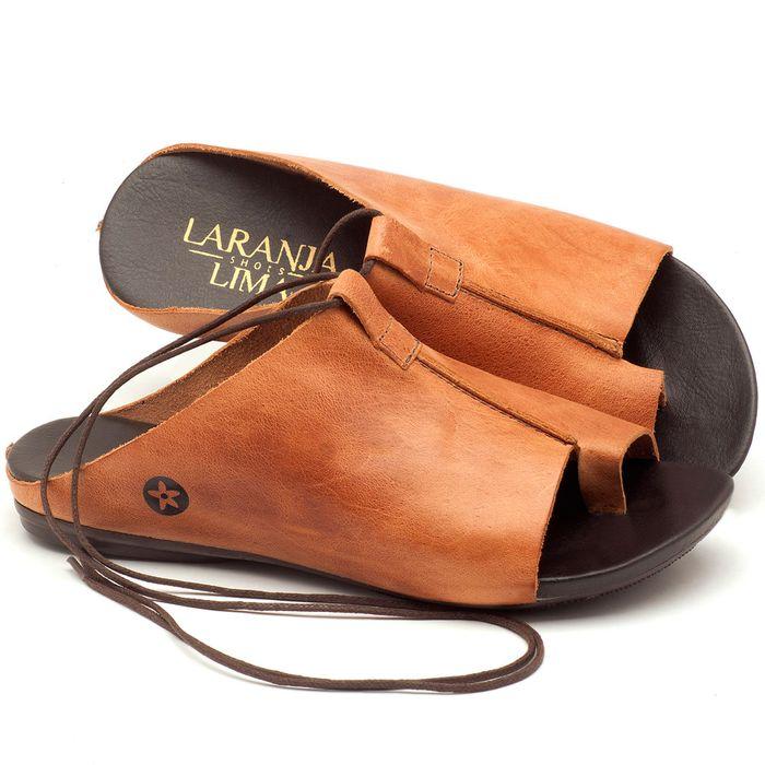 Laranja_Lima_Shoes_Sapatos_Femininos_Sandalia_Rasteira_Flat_em_Couro_Caramelo_-_Codigo_-_137127_1