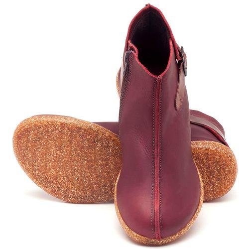 Laranja_Lima_Shoes_Sapatos_Femininos_Flat_Boot_em_Couro_Vinho_-_Codigo_-_137144_2