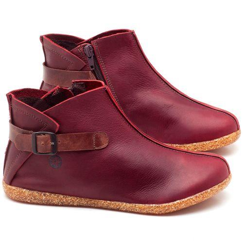 Laranja_Lima_Shoes_Sapatos_Femininos_Flat_Boot_em_Couro_Vinho_-_Codigo_-_137144_1