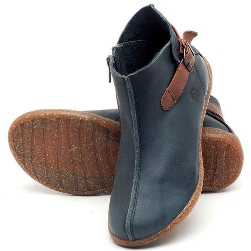 Laranja_Lima_Shoes_Sapatos_Femininos_Flat_Boot_em_Couro_Azul_-_Codigo_-_137144_2