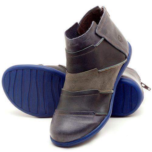Laranja_Lima_Shoes_Sapatos_Femininos_Flat_Boot_em_Couro_azul_-_Codigo_-_137145_2