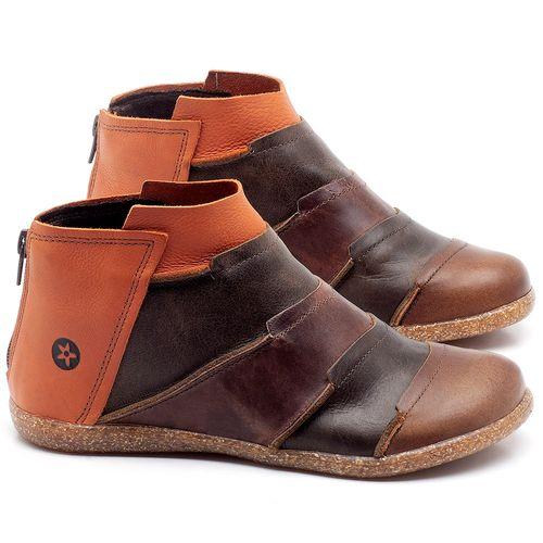 Laranja_Lima_Shoes_Sapatos_Femininos_Flat_Boot_em_Couro_Multicolor_-_Codigo_-_137145_1