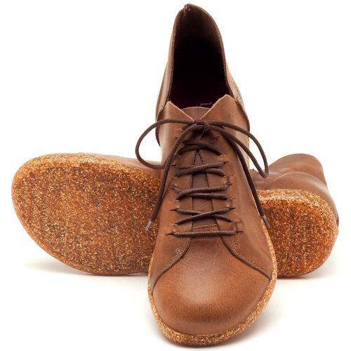 Laranja_Lima_Shoes_Sapatos_Femininos_Tenis_Cano_Baixo_em_Couro_Marrom_-_Codigo_-_137148_2