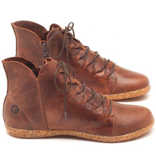 Laranja_Lima_Shoes_Sapatos_Femininos_Tenis_Cano_Alto_em_Couro_Marrom_-_Codigo_-_137149_1