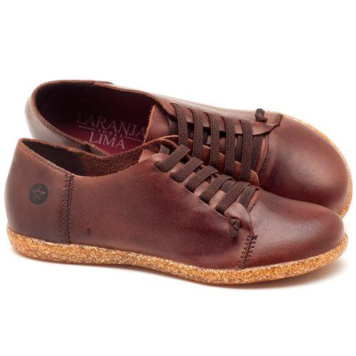 Laranja_Lima_Shoes_Sapatos_Femininos_Tenis_Cano_Baixo_em_Couro_Marrom_-_Codigo_-_137150_1