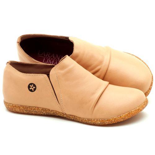 Laranja_Lima_Shoes_Sapatos_Femininos_Flat_Shoes_em_Couro_Bege_-_Codigo_-_137153_1