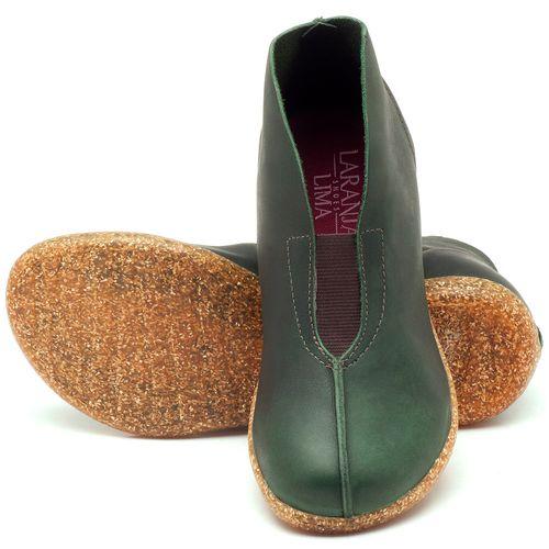Laranja_Lima_Shoes_Sapatos_Femininos_Flat_Boot_em_Couro_Verde_-_Codigo_-_137154_2