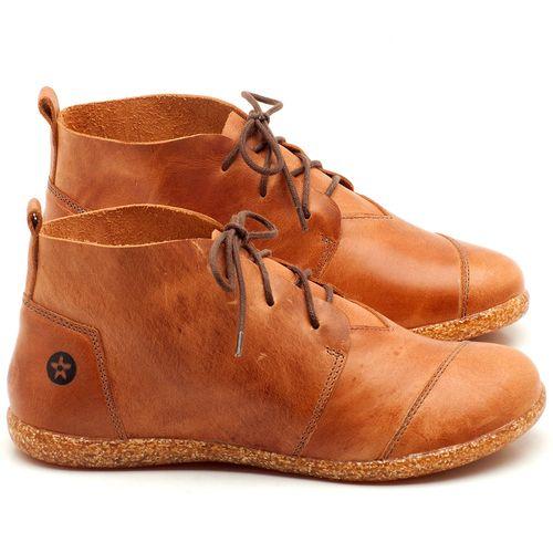 Laranja_Lima_Shoes_Sapatos_Femininos_Flat_Boot_em_Couro_Caramelo_-_Codigo_-_137155_1