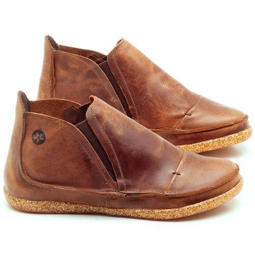 Laranja_Lima_Shoes_Sapatos_Femininos_Tenis_Cano_Alto_em_Couro_Marrom_-_Codigo_-_137156_1