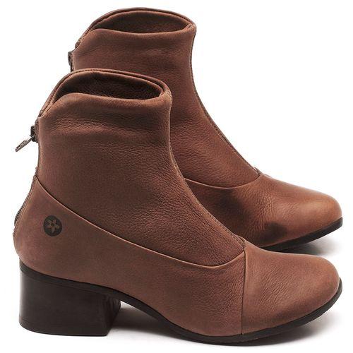 Laranja_Lima_Shoes_Sapatos_Femininos_Bota_Cano_Curto_Salto_de_5_cm_em_Couro_Marrom_-_Codigo_-_137161_1