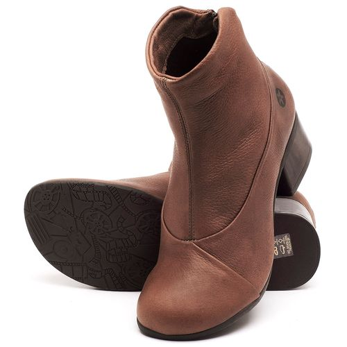 Laranja_Lima_Shoes_Sapatos_Femininos_Bota_Cano_Curto_Salto_de_5_cm_em_Couro_Marrom_-_Codigo_-_137161_2