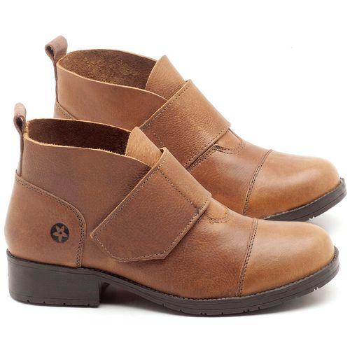 Laranja_Lima_Shoes_Sapatos_Femininos_Bota_Cano_Curto_Salto_de_3_cm_em_Couro_Bege_-_Codigo_-_137165_1