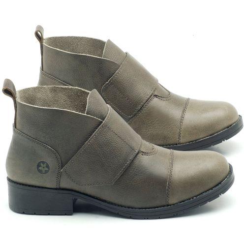 Laranja_Lima_Shoes_Sapatos_Femininos_Bota_Cano_Curto_Salto_de_3_cm_em_Couro_Musgo_-_Codigo_-_137165_1