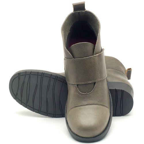 Laranja_Lima_Shoes_Sapatos_Femininos_Bota_Cano_Curto_Salto_de_3_cm_em_Couro_Musgo_-_Codigo_-_137165_2