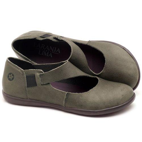 Laranja_Lima_Shoes_Sapatos_Femininos_Flat_Shoes_em_Couro_Musgo_-_Codigo_-_137167_1