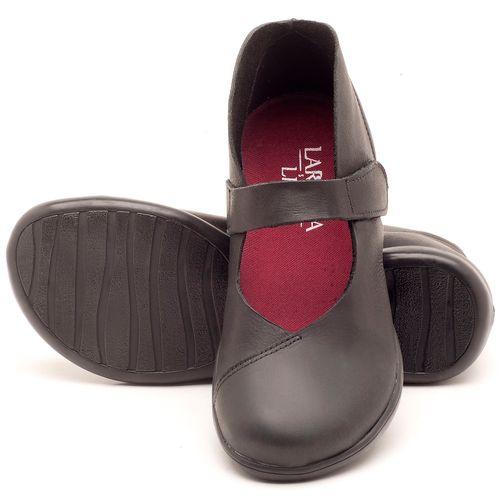 Laranja_Lima_Shoes_Sapatos_Femininos_Flat_Shoes_em_Couro_Preto_-_Codigo_-_137168_2