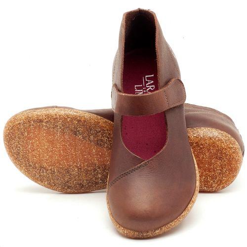 Laranja_Lima_Shoes_Sapatos_Femininos_Flat_Shoes_em_Couro_Marrom_-_Codigo_-_137168_2