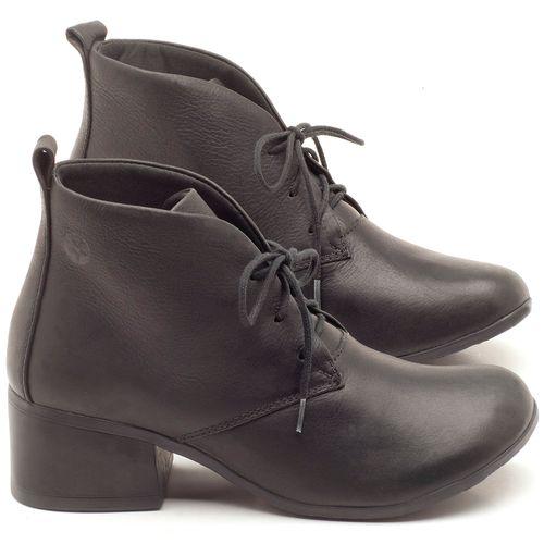 Laranja_Lima_Shoes_Sapatos_Femininos_Bota_Cano_Curto_Salto_de_5_cm_em_Couro_Preto_-_Codigo_-_137170_1
