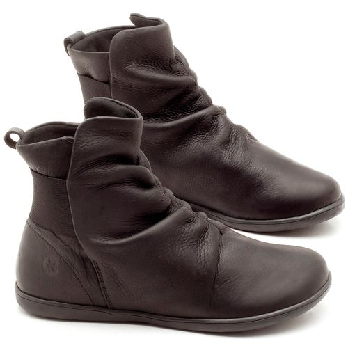 Laranja_Lima_Shoes_Sapatos_Femininos_Flat_Boot_em_Couro_Preto_-_Codigo_-_137171_1