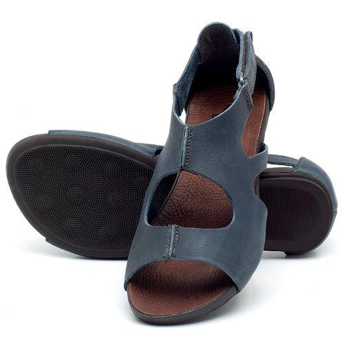 Laranja_Lima_Shoes_Sapatos_Femininos_Sandalia_Rasteira_Flat_em_Couro_Azul_-_Codigo_-_137174_2