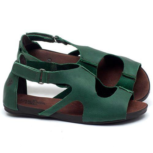 Laranja_Lima_Shoes_Sapatos_Femininos_Sandalia_Rasteira_Flat_em_Couro_Verde_-_Codigo_-_137174_1