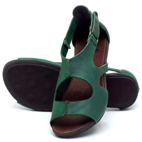 Laranja_Lima_Shoes_Sapatos_Femininos_Sandalia_Rasteira_Flat_em_Couro_Verde_-_Codigo_-_137174_2