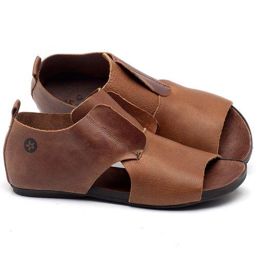 Laranja_Lima_Shoes_Sapatos_Femininos_Sandalia_Rasteira_Flat_em_Couro_Marrom_-_Codigo_-_137175_1