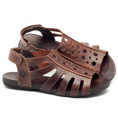 Laranja_Lima_Shoes_Sapatos_Femininos_Sandalia_Rasteira_Flat_em_Couro_Marrom_-_Codigo_-_137176_2