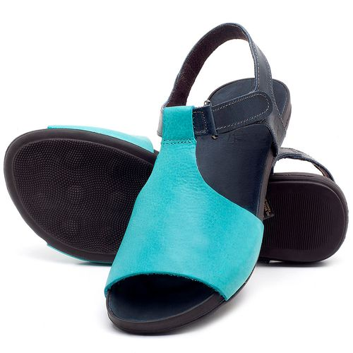 Laranja_Lima_Shoes_Sapatos_Femininos_Sandalia_Rasteira_Flat_em_Couro_Azul_-_Codigo_-_137177_2