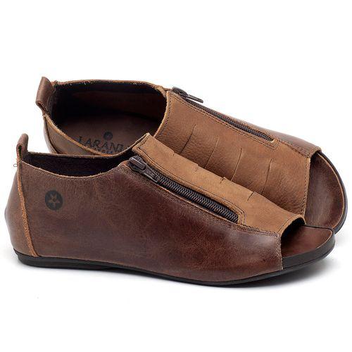 Laranja_Lima_Shoes_Sapatos_Femininos_Sandalia_Rasteira_Flat_em_Couro_Marrom_-_Codigo_-_137178_1
