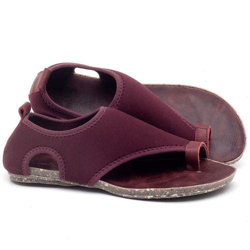 Laranja_Lima_Shoes_Sapatos_Femininos_Sandalia_Rasteira_Flat_em_Textil_Vinho_-_Codigo_-_137179_1