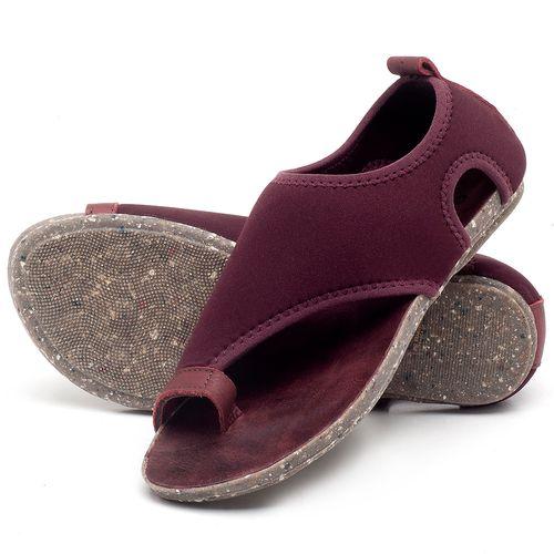 Laranja_Lima_Shoes_Sapatos_Femininos_Sandalia_Rasteira_Flat_em_Textil_Vinho_-_Codigo_-_137179_2