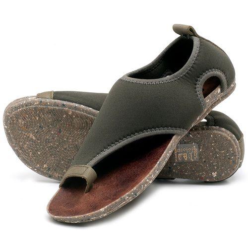 Laranja_Lima_Shoes_Sapatos_Femininos_Sandalia_Rasteira_Flat_em_Textil_Verde_-_Codigo_-_137179_2