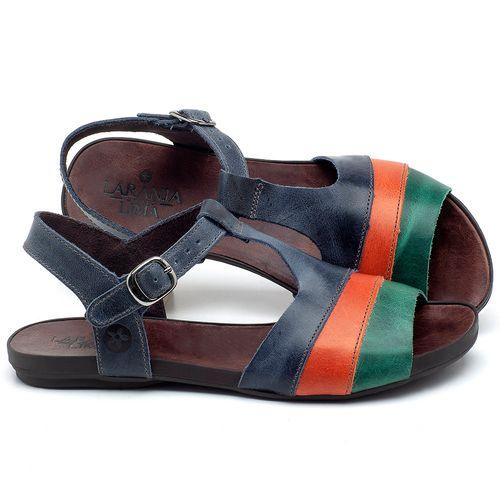 Laranja_Lima_Shoes_Sapatos_Femininos_Sandalia_Rasteira_Flat_em_Couro_Multicolor_-_Codigo_-_137181_1