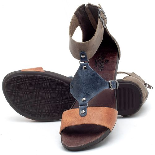 Laranja_Lima_Shoes_Sapatos_Femininos_Sandalia_Rasteira_Flat_em_Couro_Multicolor_-_Codigo_-_137183_2