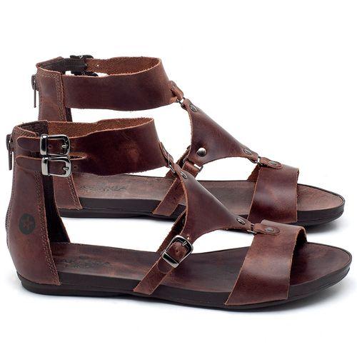 Laranja_Lima_Shoes_Sapatos_Femininos_Sandalia_Rasteira_Flat_em_Couro_Marrom_-_Codigo_-_137183_1